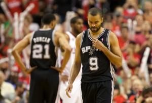 NBA: Playoffs-San Antonio Spurs at Portland Trail Blazers