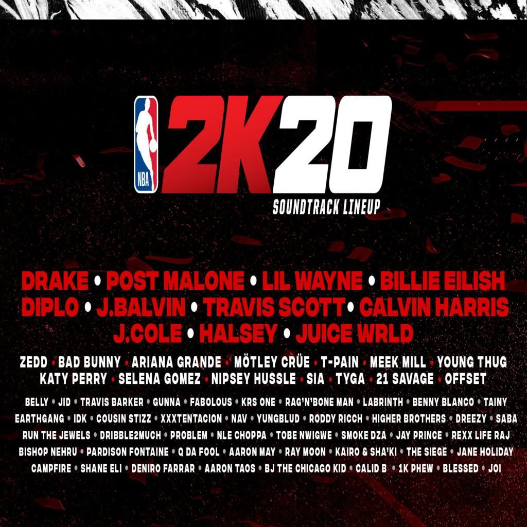Soundtrack de NBA