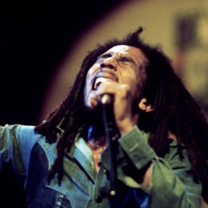 Bob Marley sur scène