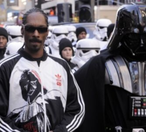 Snoop Dogg et Dark Vador