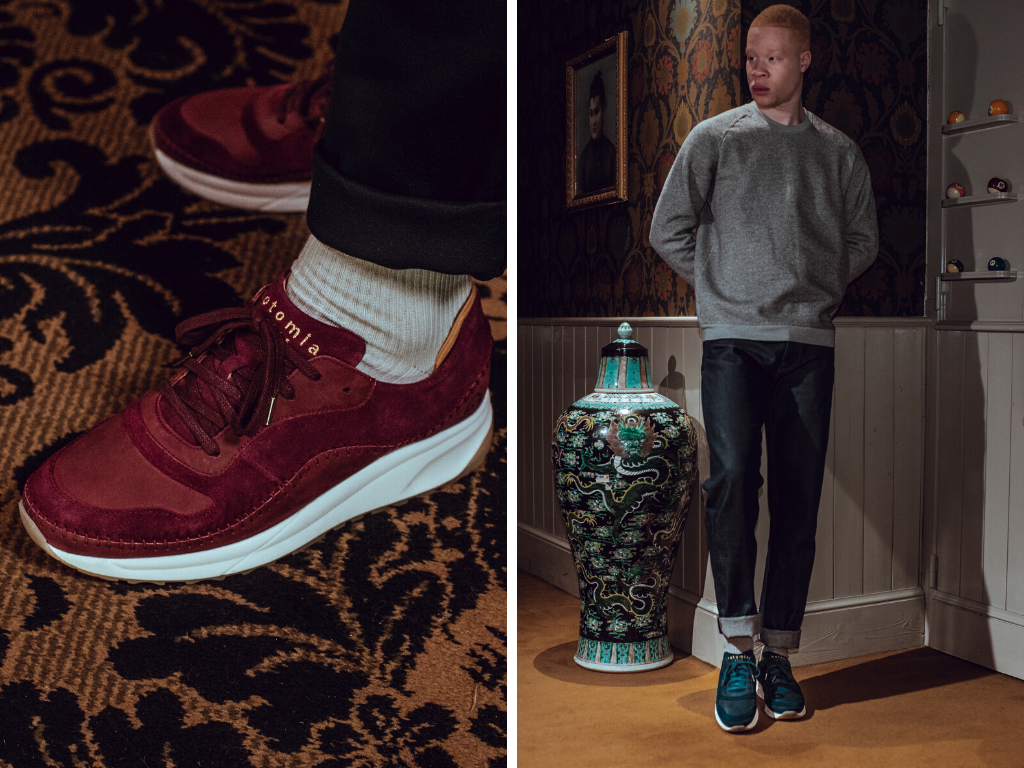 Notomia présente sa collection de sneakers maya
