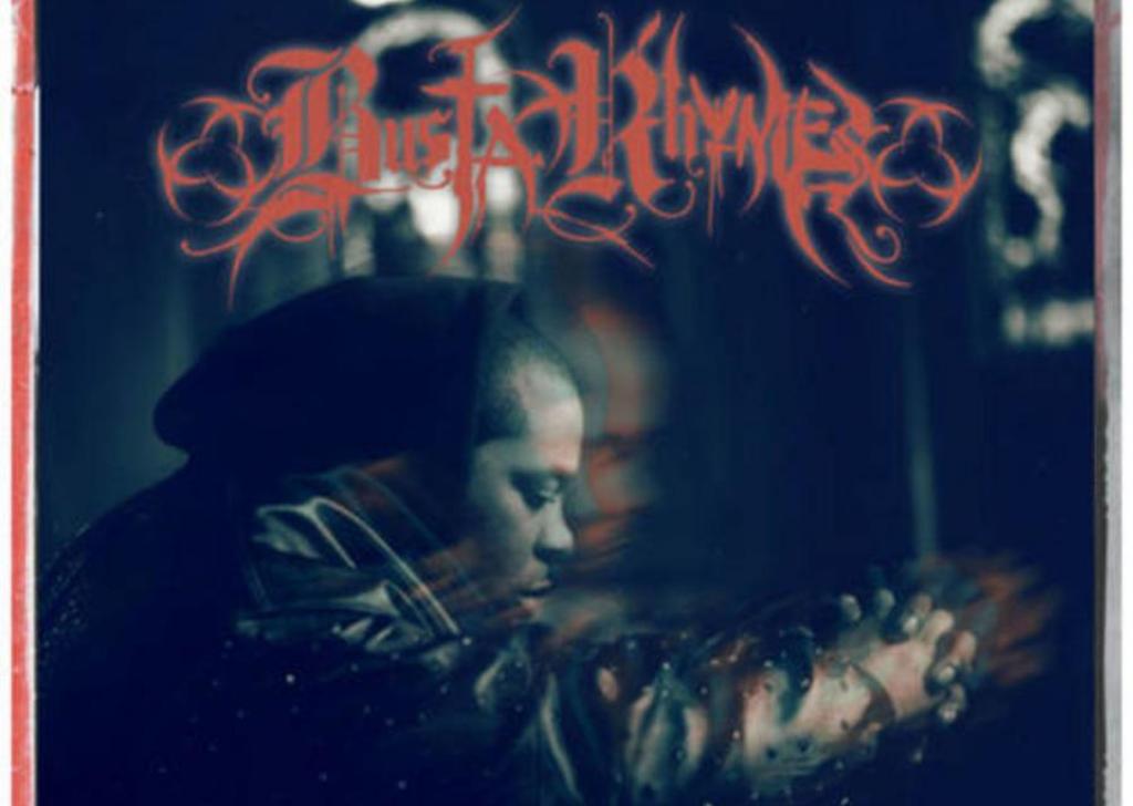 Album Cover de Blessed, album avorté de Busta Rhymes.
