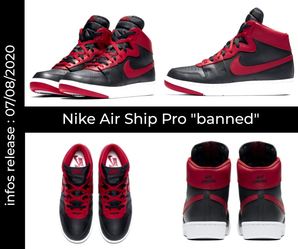 Mockup Nike Air Ship Pro Banned