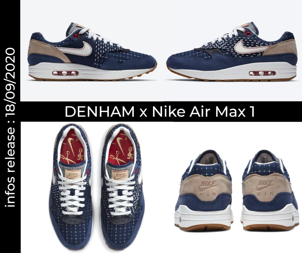 Mock up - Denham x Nike AM1