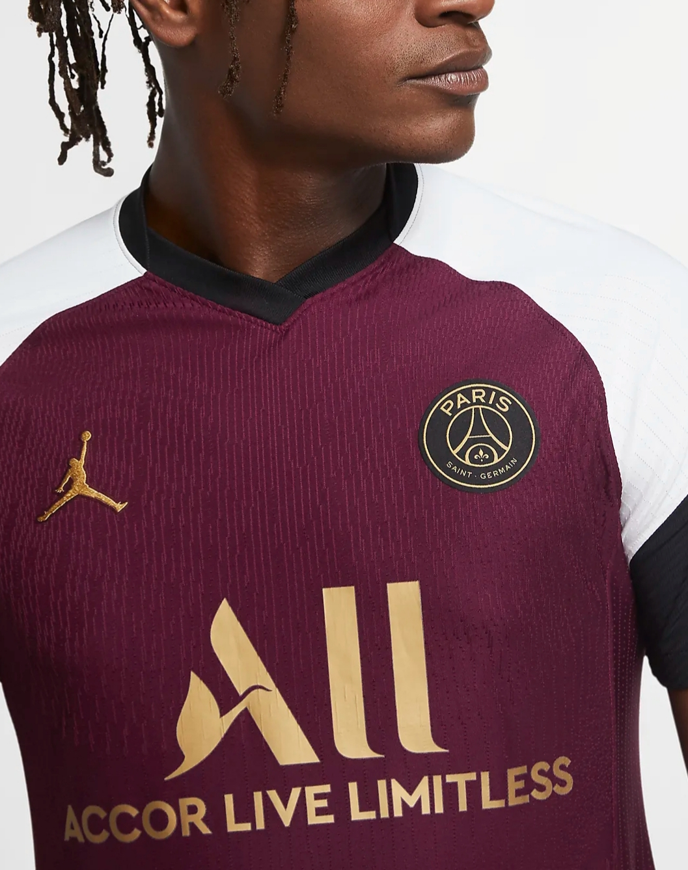 Jordan Brand x PSG - Maillot third details