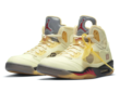Air Jordan 5 Off White Sail