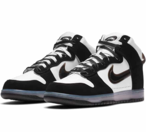 Nike Dunk High Clear Black x Slam Jam