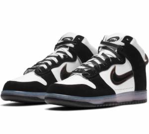 Nike Dunk High Clear Black x Slam Jam