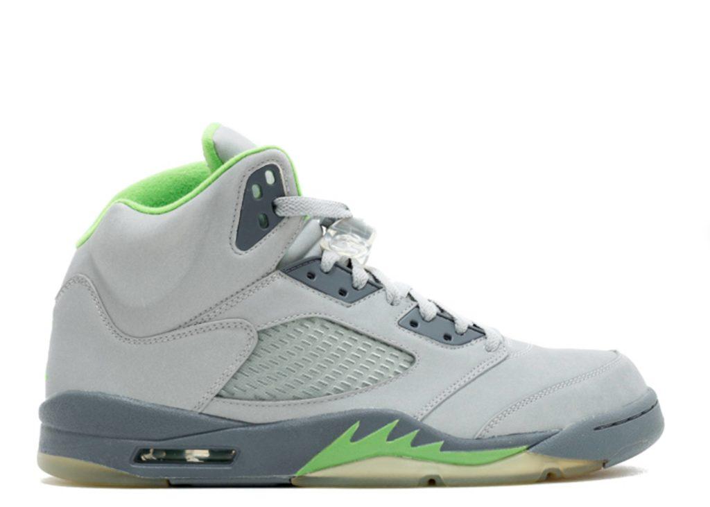 Air Jordan 5 Green Bean