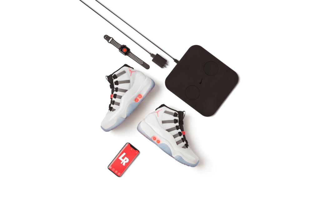 Le système de recharge sans fil de la Air Jordan 11 Adapt.