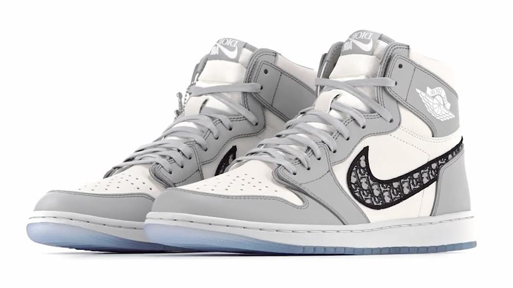 Air Jordan 1 High x Dior, la sneaker de l'année 2020.