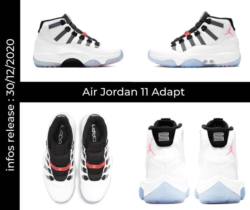 Mock Up Air Jordan 11 Adapt
