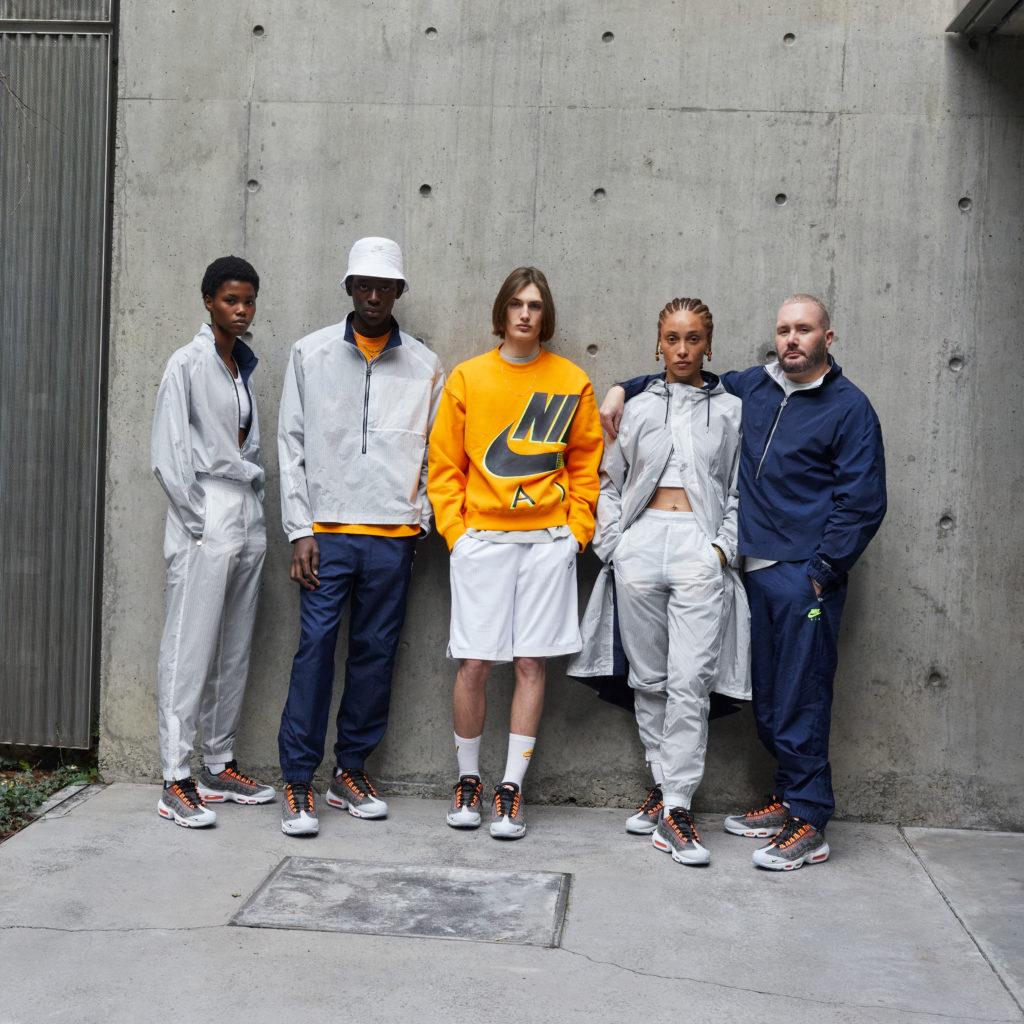 Kim Jones x Nike Collection Apparel Orange